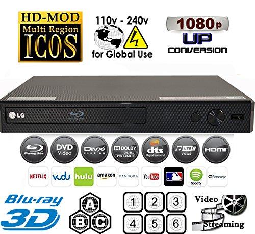 LG BP550 2D/3D - BD - DVD - - Blu Ray 3d Player Lg