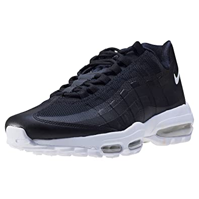 outlet store 98c61 a5ead Nike Air Max 95 Ultra Essential Mens Trainers Black White - 11.5 UK   Amazon.co.uk  Shoes   Bags