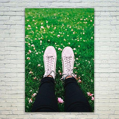 Westlake Art Poster Print Wall Art - Green White - Modern Pi