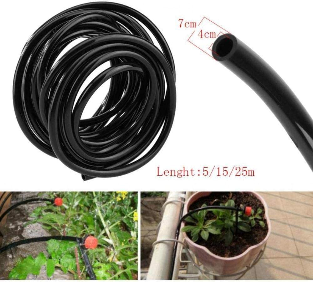 YUIOLIL Garden Hose Expandable 5 10 15 20 25 40 50M 4/7Mm Watering Drip Pipe Pvc Irrigation System For Houses Irrigation Tube,10M 5m