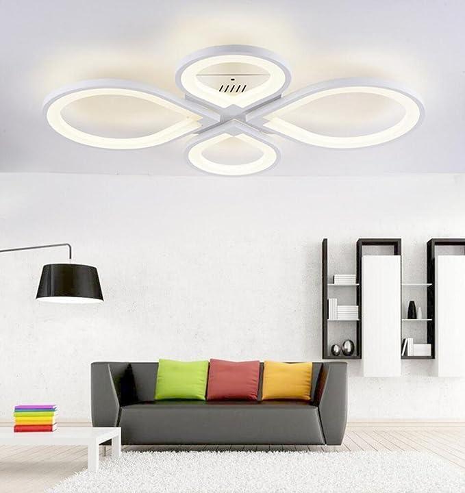 LED plafonnier salon moderne étude restaurant chambre