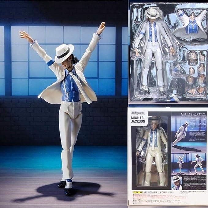 Michael Jackson Action Figure Moonwalk Statue Modèle Jouets Collection Cadeau
