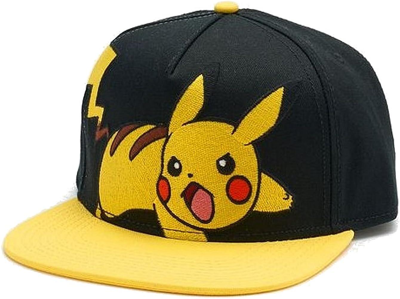 Para hombre bordado, diseño de Pokémon Pikachu gorra sombrero ...