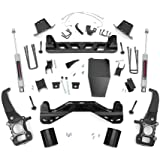 Rough Country - 54620 - 6-inch Suspension Lift Kit w/ Premium N3 Shocks for Ford: 04-08 F150 4WD