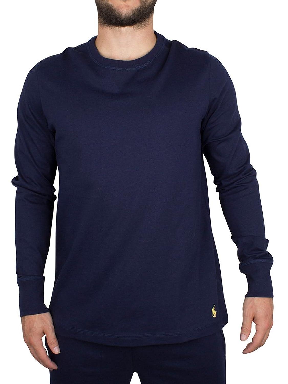 Polo Ralph Lauren Herren Longsleeved Logo T-Shirt, Blau