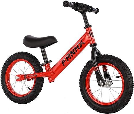 FYLY-12 Bicicleta Sin Pedales para Niños y Niñas, Bicicleta Sin ...