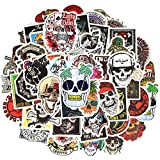 Waterproof Punk Vinyl Laptop Stickers Car Decals
