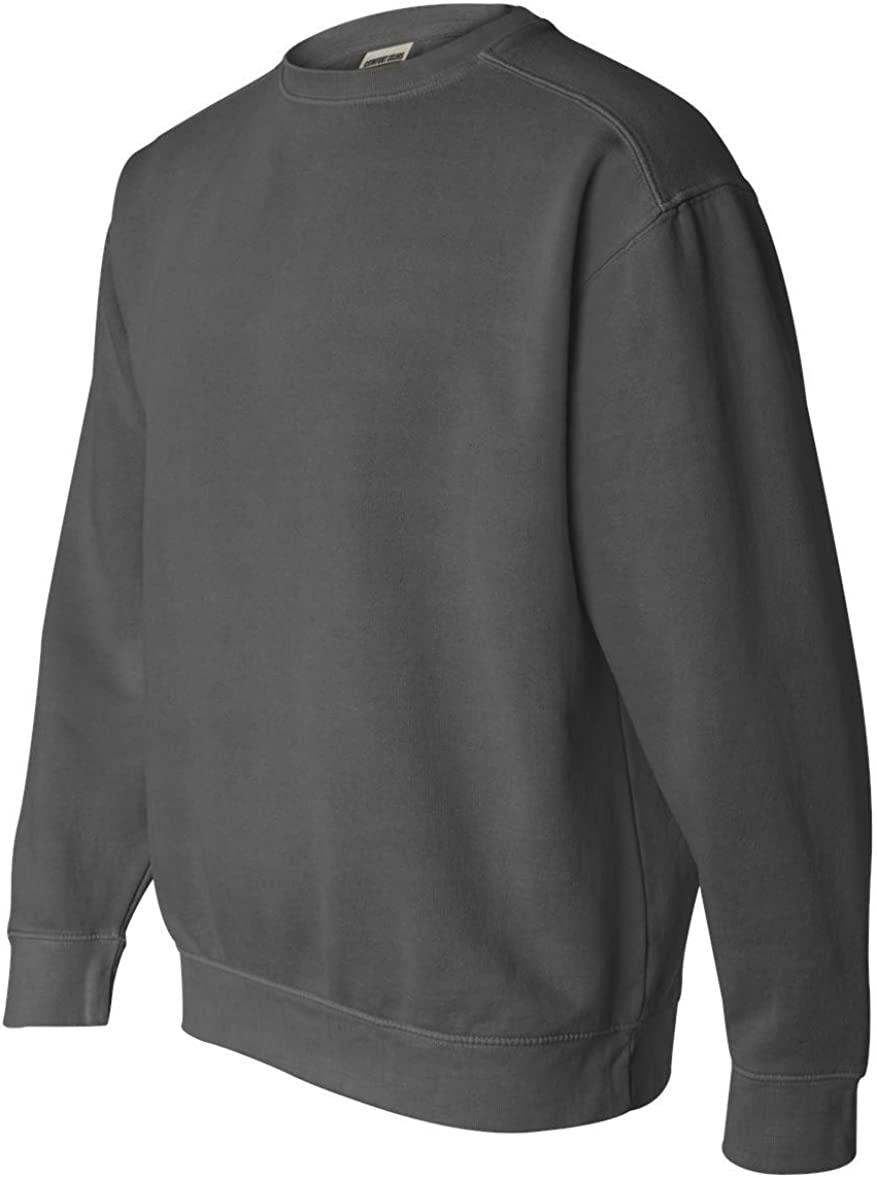 Comfort Colors Pigment-Dyed Crewneck Sweatshirt S Pepper
