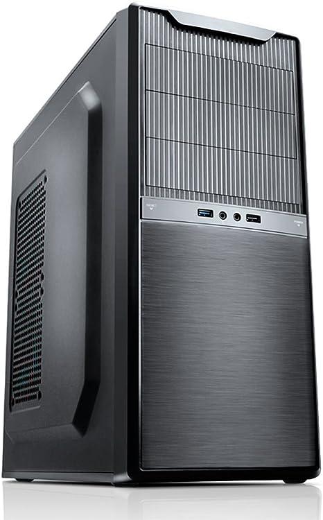 Nox Titan - Caja de Ordenador Torre ATX, Color Negro: Amazon.es: Informática