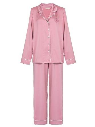 8783c8654 Pijama Loungerie Longo Cetim Noah Rosa Pó  Amazon.com.br  Amazon Moda