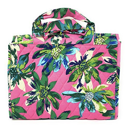 Vera Bradley Hanging Travel Organizer (Tropical Paradise with Blue Interior)