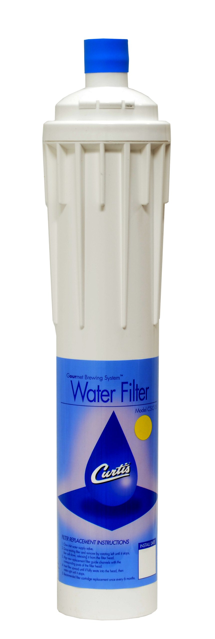"""Wilbur Curtis Water Filter 15"""" Replacement Cartridge - Commercial-Grade Water Filter with Enhanced Filtration - CSC15CC00 (Each)"""