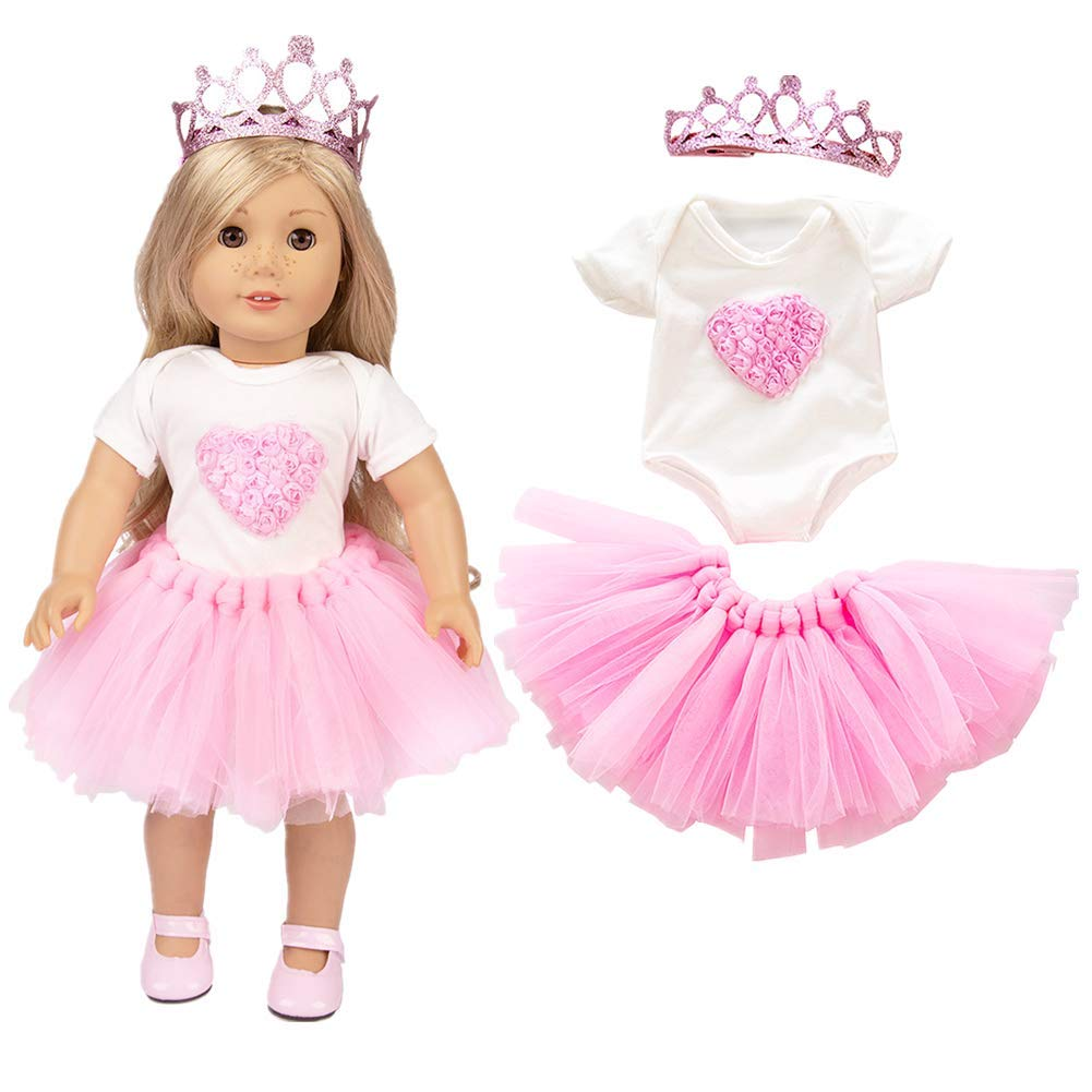 ZSWQ Cute Animal Jumpsuit Clothes Coat For 18 inch Fashion American Girl Doll- Not Include Dolls