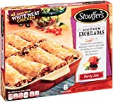 Stouffer's, Chicken Enchiladas with Cheese Sauce and Rice, 57 oz (Frozen)