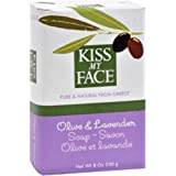 Amazon.com : Kiss My Face Bar Soap, 8.0 oz, Pure Olive Oil