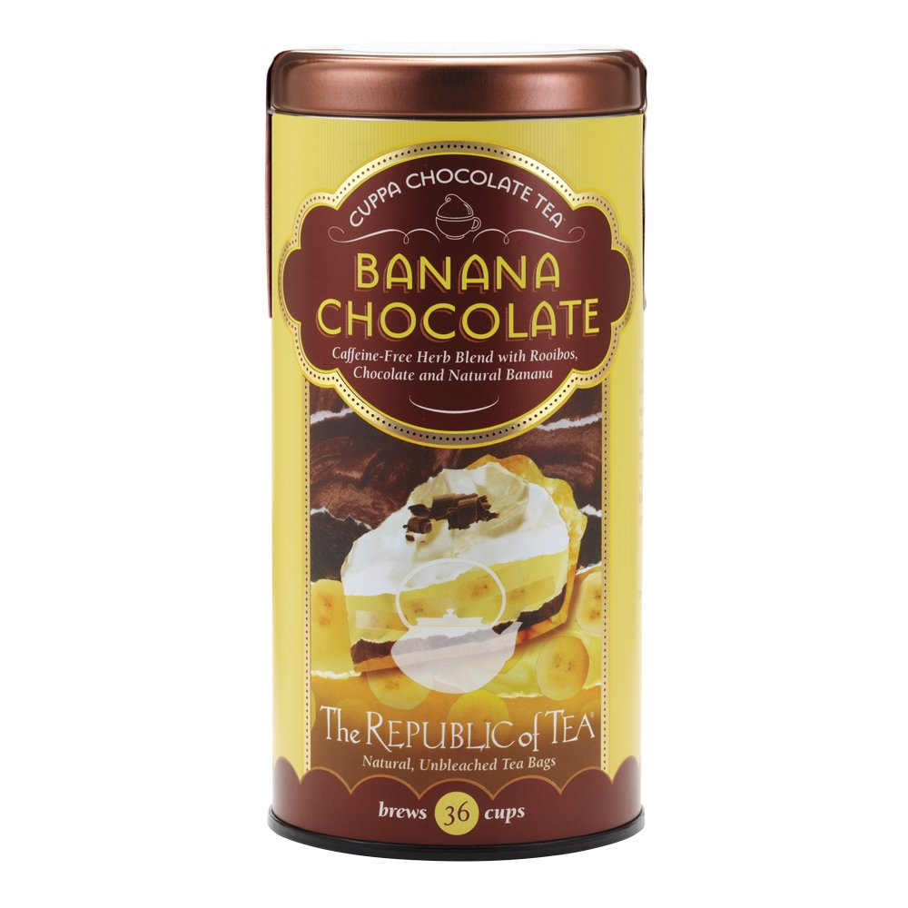 REPUBLIC OF TEA Banana Chocolate Red Tea, 36 CT
