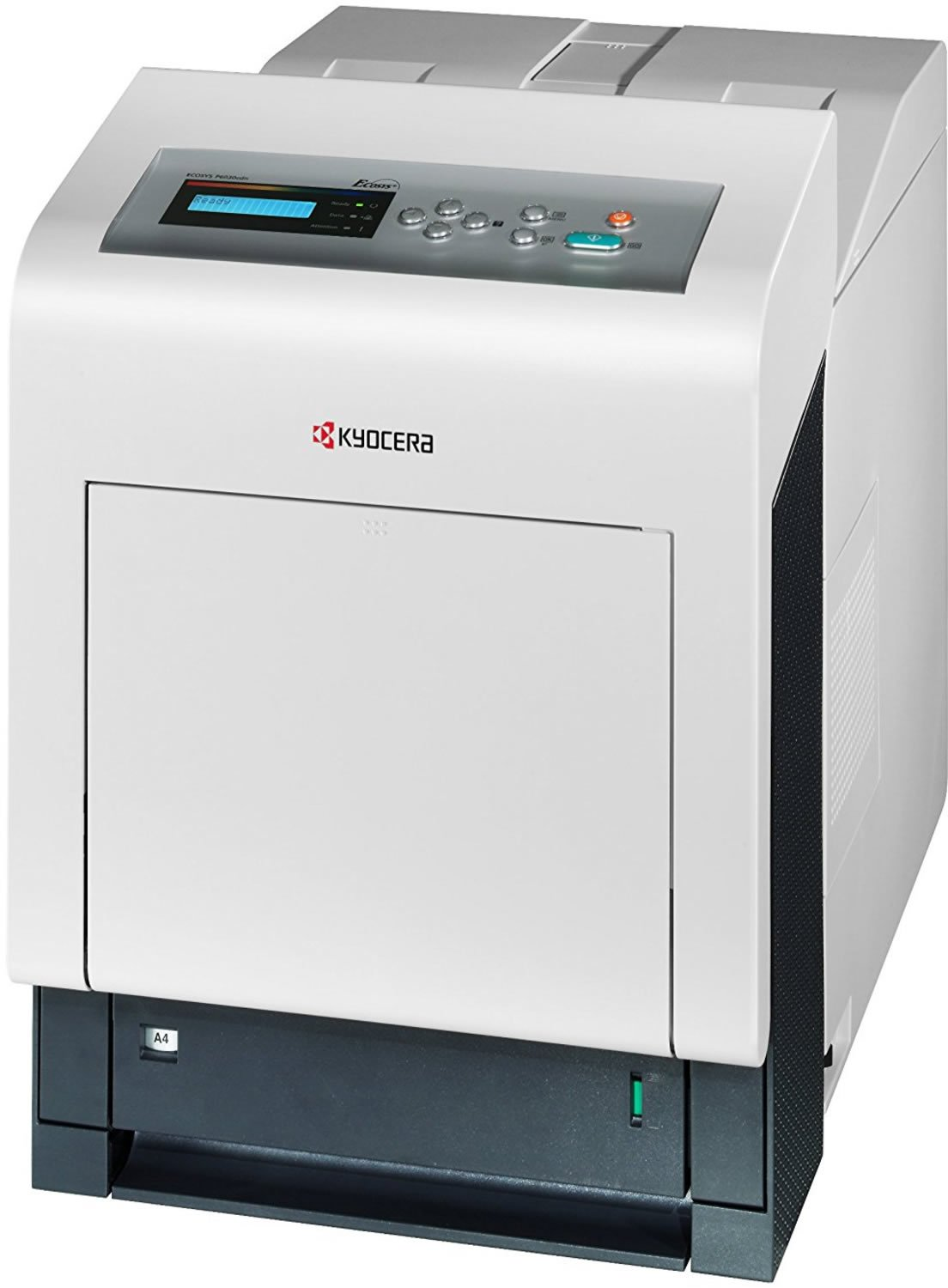 Kyocera 1102PP2US0 Model ECOSYS P6030cdn Color Network Laser Printer, 32 PPM B&W and Color, Resolution 600 x 600 DPI and 9,600 x 600 Multi Bit Interpolated Resolution, 512 MB Upgradable to 1,536 MB