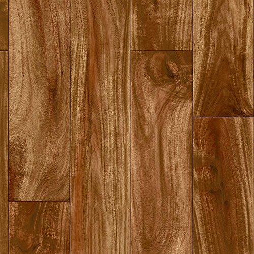 Residential Vinyl - 6 Feet x 1 Feet, Redwood Acacia, Residential Vinyl Sheet