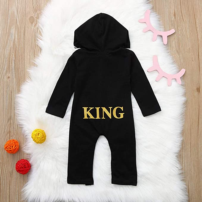 CDHL99 Bulldog Cute Infant Baby Boys Girls Short Sleeve Rompers Costume Jumpsuit 0-24M