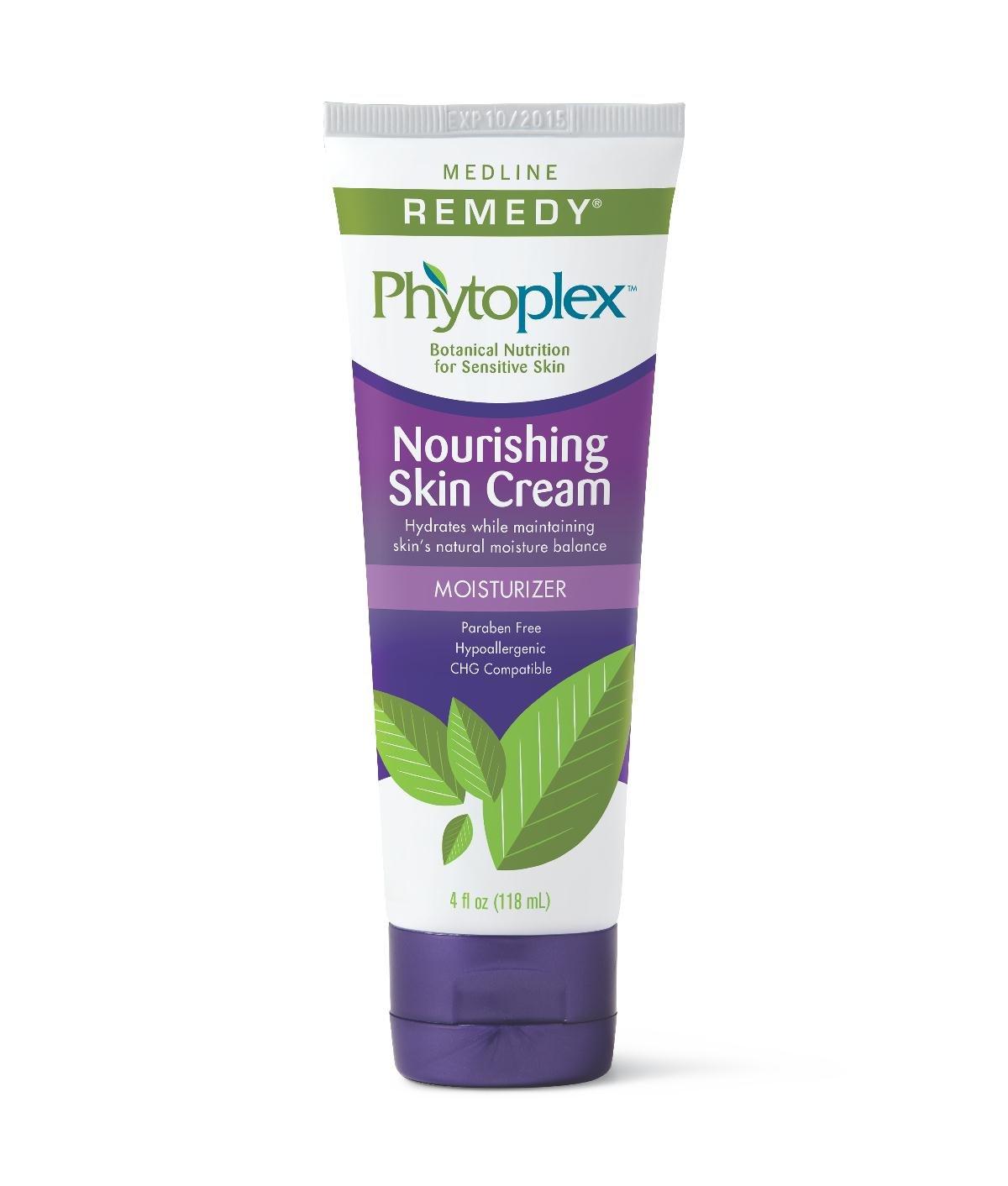 Medline MSC0924004 Remedy Phytoplex Nourishing Skin Cream, White (Case of 12)