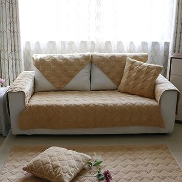 Nclon Funda para sofá Toalla de sofá Cachemira Larga ...