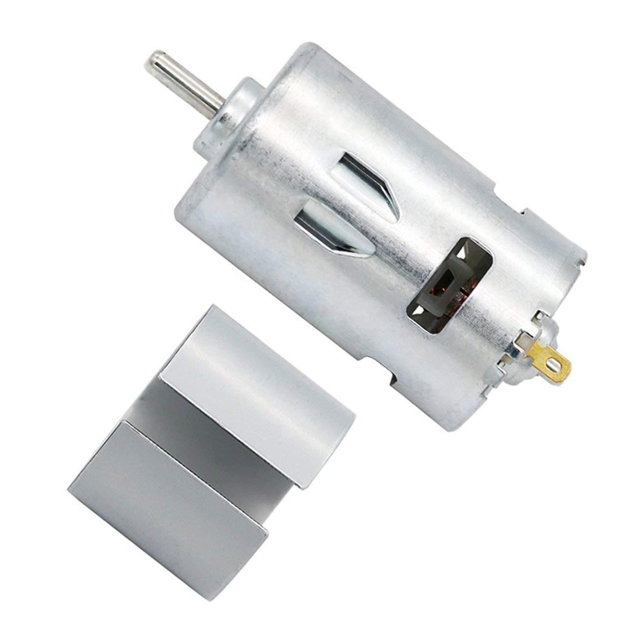 grand couple couleur: Silver-Motor-795 Moteur /à courant continu 775//795//895 12V /à double roulement /à billes composant /électronique Moteur haute puissance /à faible bruit