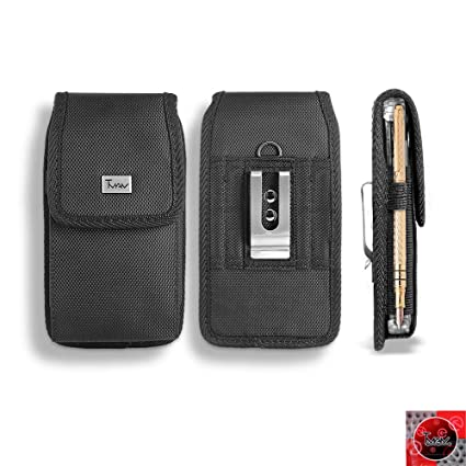size 40 be637 b4fb4 Amazon.com: LG Aristo 3 / LG Aristo 2 Canvas Pouch, XL Fit Rugged ...