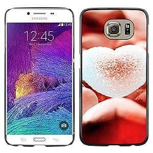 Exotic-Star ( Love Sugary Heart ) Fundas Cover Cubre Hard Case Cover para Samsung Galaxy S6 / SM-G920 / SM-G920A / SM-G920T / SM-G920F / SM-G920I