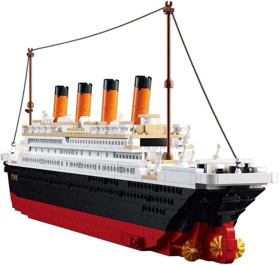 SuSenGo Titanic Building Block Kit 1021 Pieces Bricks