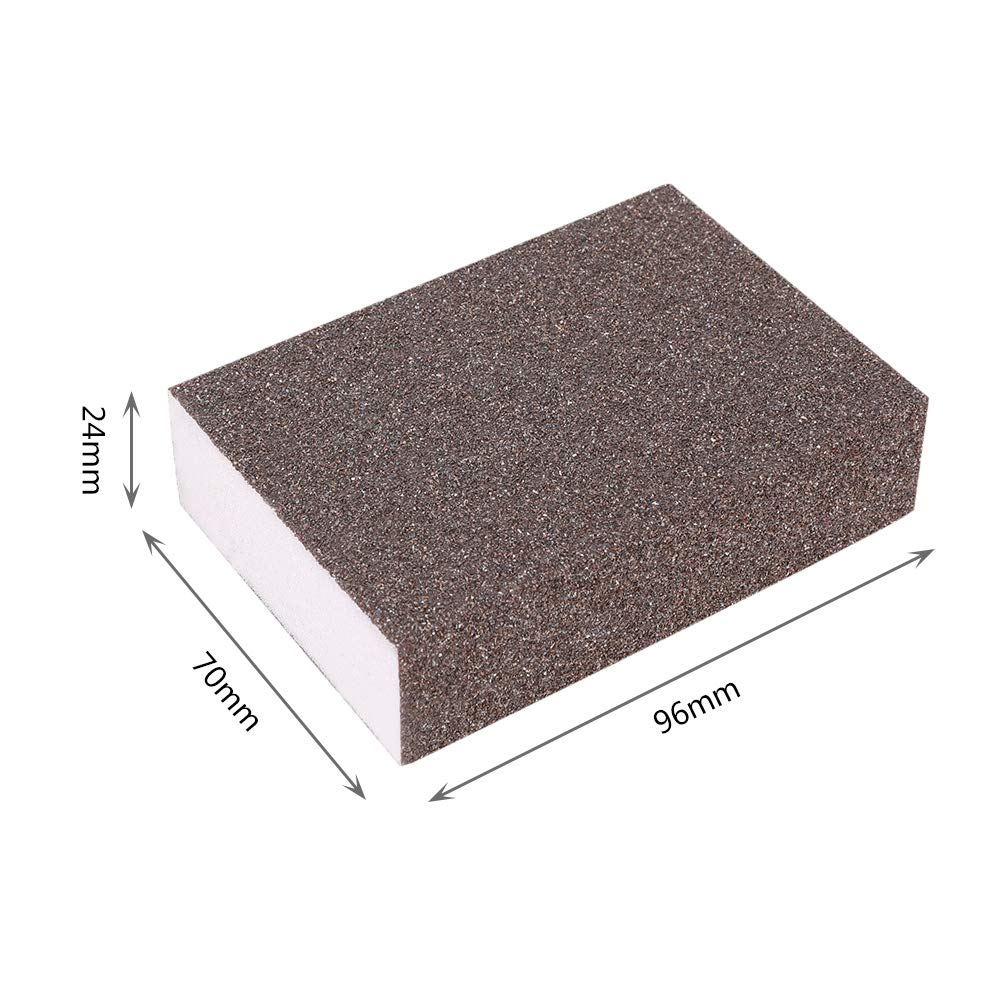 Coarse//Medium//Fine//Superfine 4 Different Magic Sanding Blocks Washable and Reusable MediaLJia 8 Pieces Sanding Sponges
