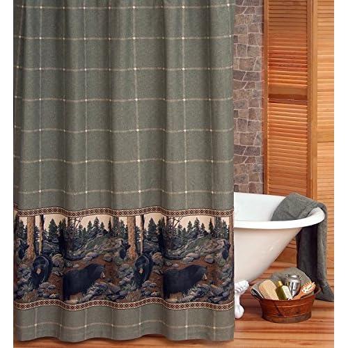 Kimlor The Bears Shower Curtain free shipping