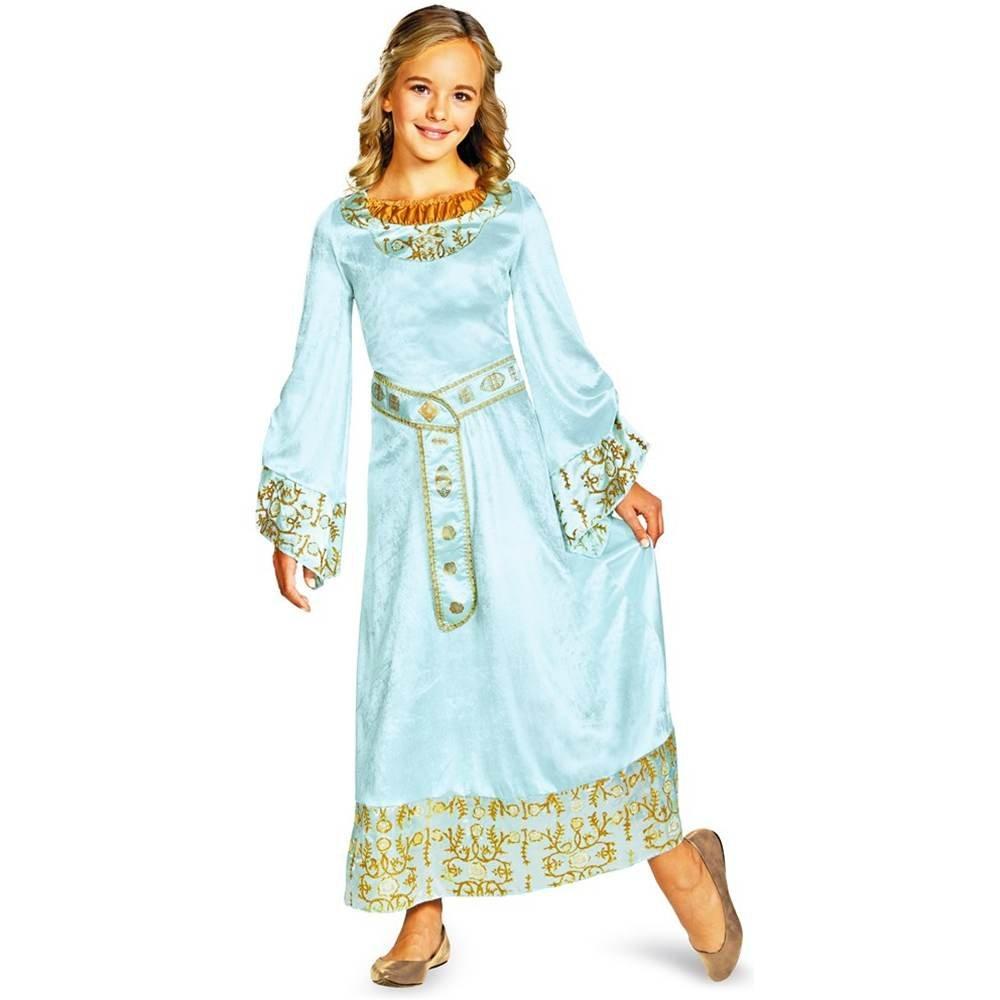 Amazon.com Disney Maleficent Movie Aurora Girls Blue Dress Deluxe Costume Large/10-12 Toys u0026 Games  sc 1 st  Amazon.com & Amazon.com: Disney Maleficent Movie Aurora Girls Blue Dress Deluxe ...
