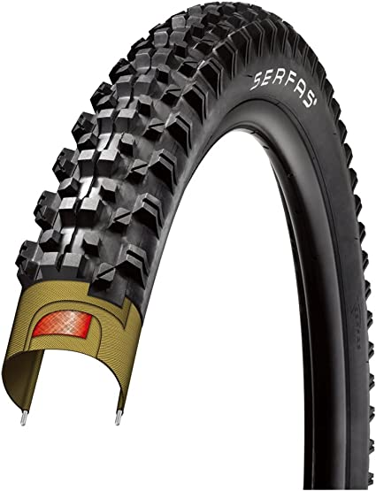 Amazon Com Serfas Krest Mtb Tire With Fps 29 X 2 1 Inch Bike Tires Sports Outdoors
