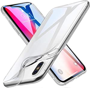 New iPhone Xs max 0.3MM Crystal Gel Case Ultra-Thin Transparent Soft TPU Clear Cases