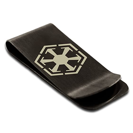 Matte Black Stainless Steel Star Wars Old Republic Sith Empire