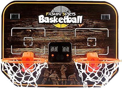 CXK-Basketball Niños Doble Colgante Tablero De Baloncesto Cesta De ...