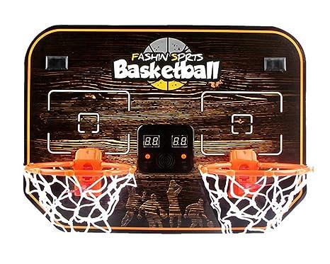 CXK-Basketball Niños Doble Colgante Tablero De Baloncesto ...