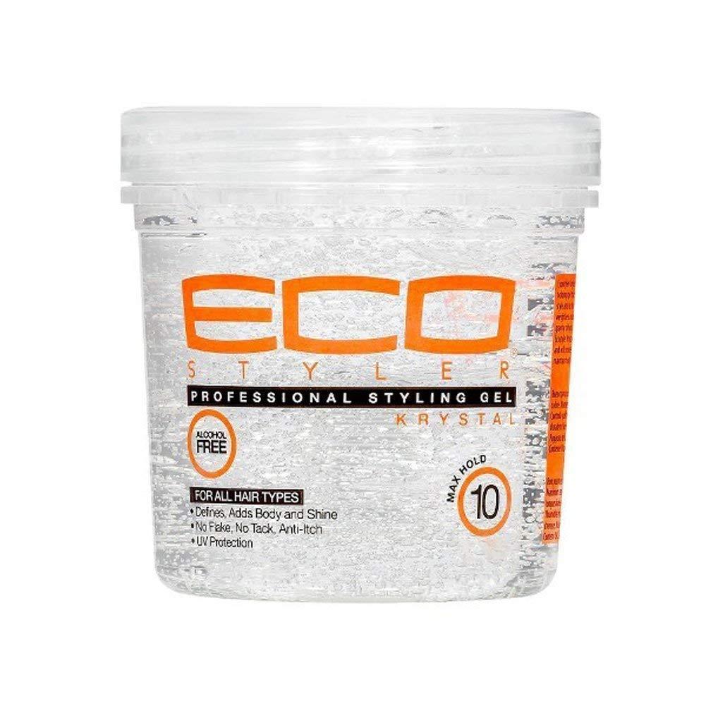 Amazon Com Eco Style Professional Styling Gel Krystal 8 Ounce Beauty