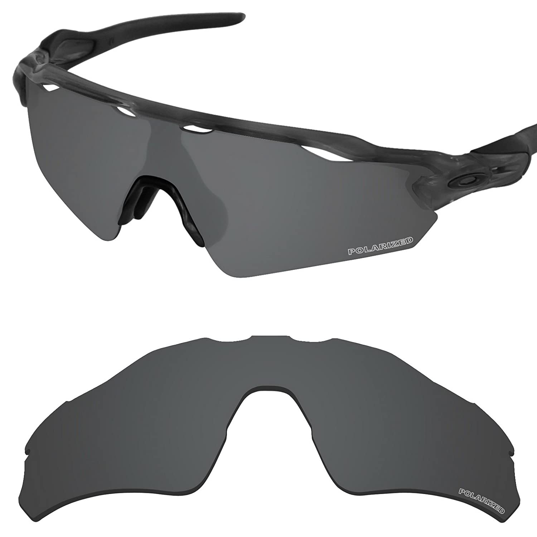 18056e639a Amazon.com  Tintart Performance Lenses Compatible with Oakley Radar EV Path  Polarized Etched-Carbon Black  Clothing