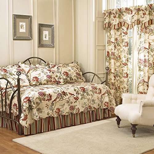 Waverly 5 Piece Charleston Chirp Daybed Set (Bedspreads Daybed)