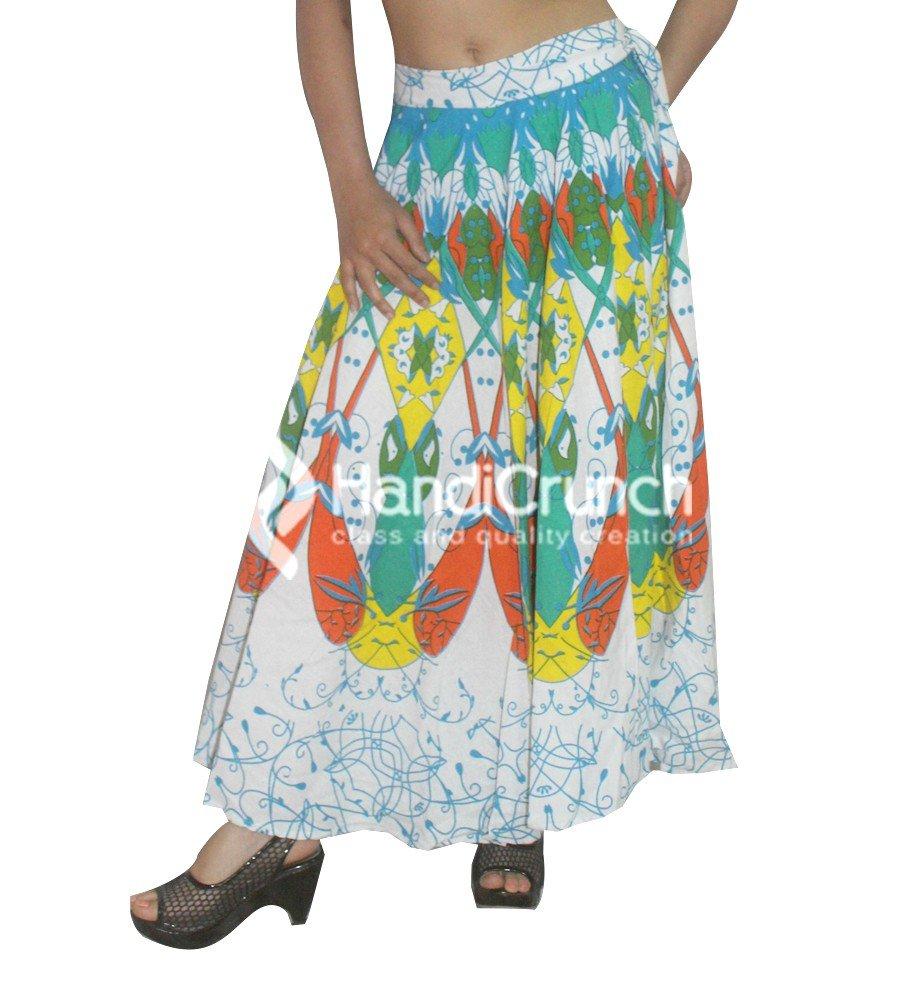 Falda larga de Boho Rapron, falda étnica de la mandala, impresión ...