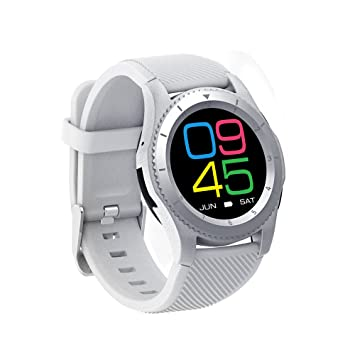 Bluetooth reloj inteligente, ds-mart reloj de pulsera G8 pantalla táctil reloj teléfono móvil inteligente con ...