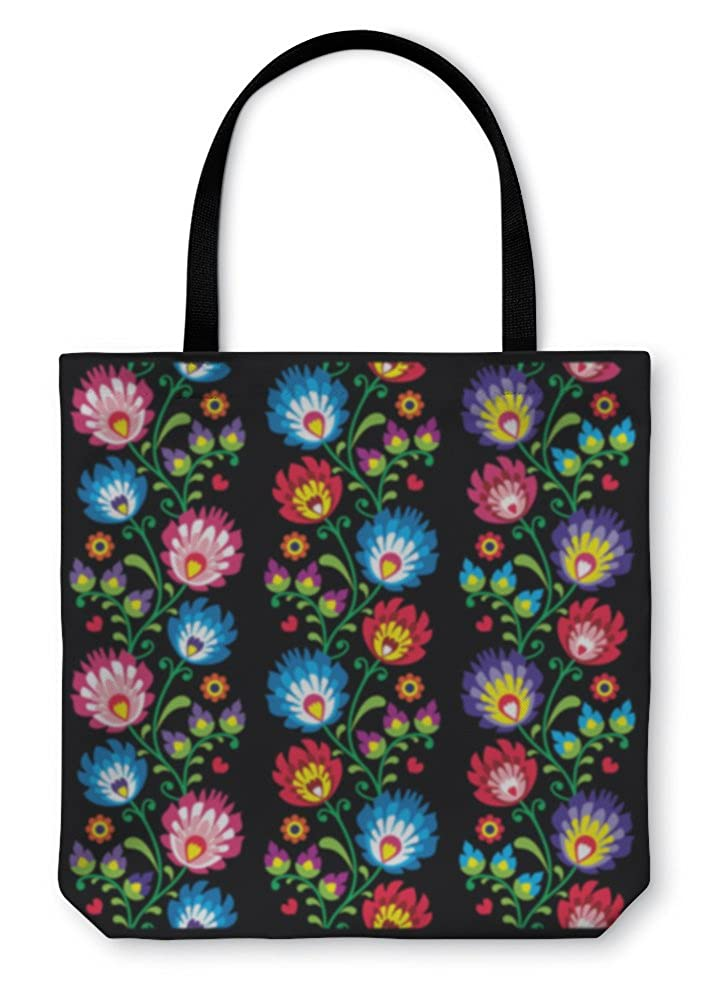 Long Polish Folk Art Pattern Wzory Lowickie Wycinanka Gear New Shoulder Tote Hand Bag 5766637GN