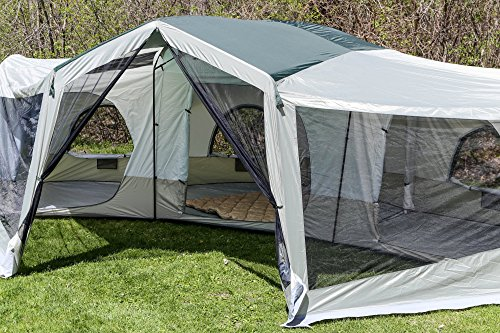 Tahoe Gear Carson 3-Season 14 Person Large Family Cabin Tent & Tahoe Gear Carson 3-Season 14 Person Large Family Cabin Tent ...