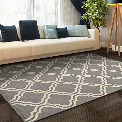 Superior Elegant Double Trellis Area Rug Collection 8X10