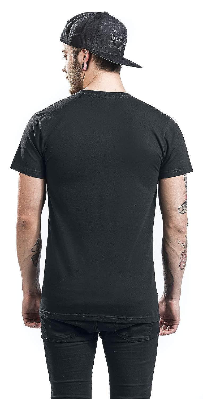 Bob Marley Stare Paint Stripe T-shirt noir M