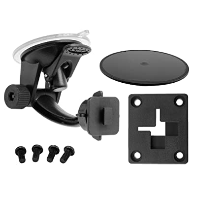 ARKON Windshield Dash Suction Car Mount for XM and Sirius Satellite Radios Single T and AMPS Pattern Compatible, Black - SR114: Electronics