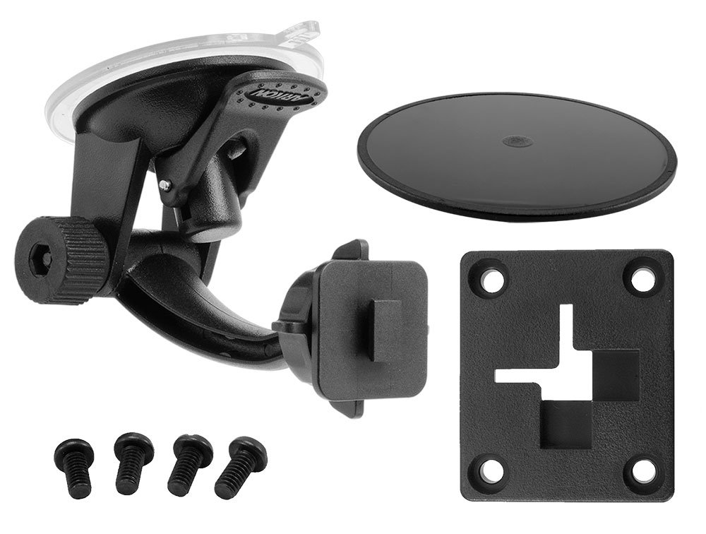 Windshield Dash Suction Car Mount for XM and Sirius Satellite Radios Single T and AMPS Pattern Compatible by ARKON (Image #1)