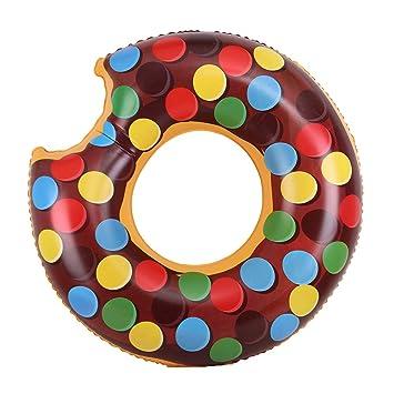 Amazon.com: wenying inflable anillo de natación flotadores ...