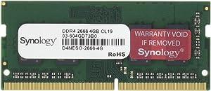 Synology RAM DDR4-2666 Non-ECC SO-DIMM 4GB (D4NESO-2666-4G)